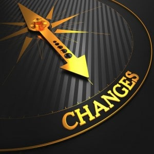 Personal Change - compass to new direction