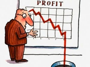 poor profitability cartoon