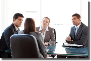 use a team when transition planning