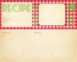 procedures are the recipes of your business process